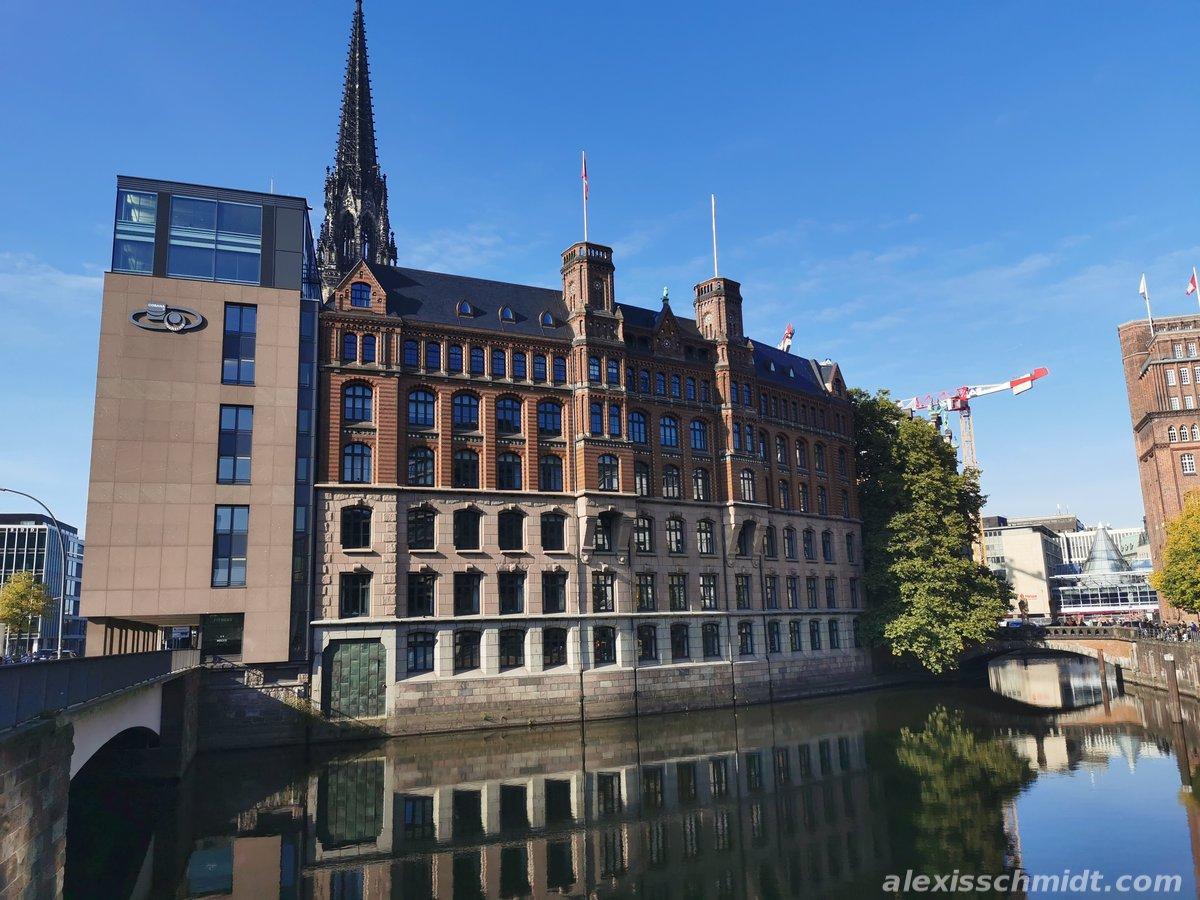 Nikolaifleet in Hamburg Germany