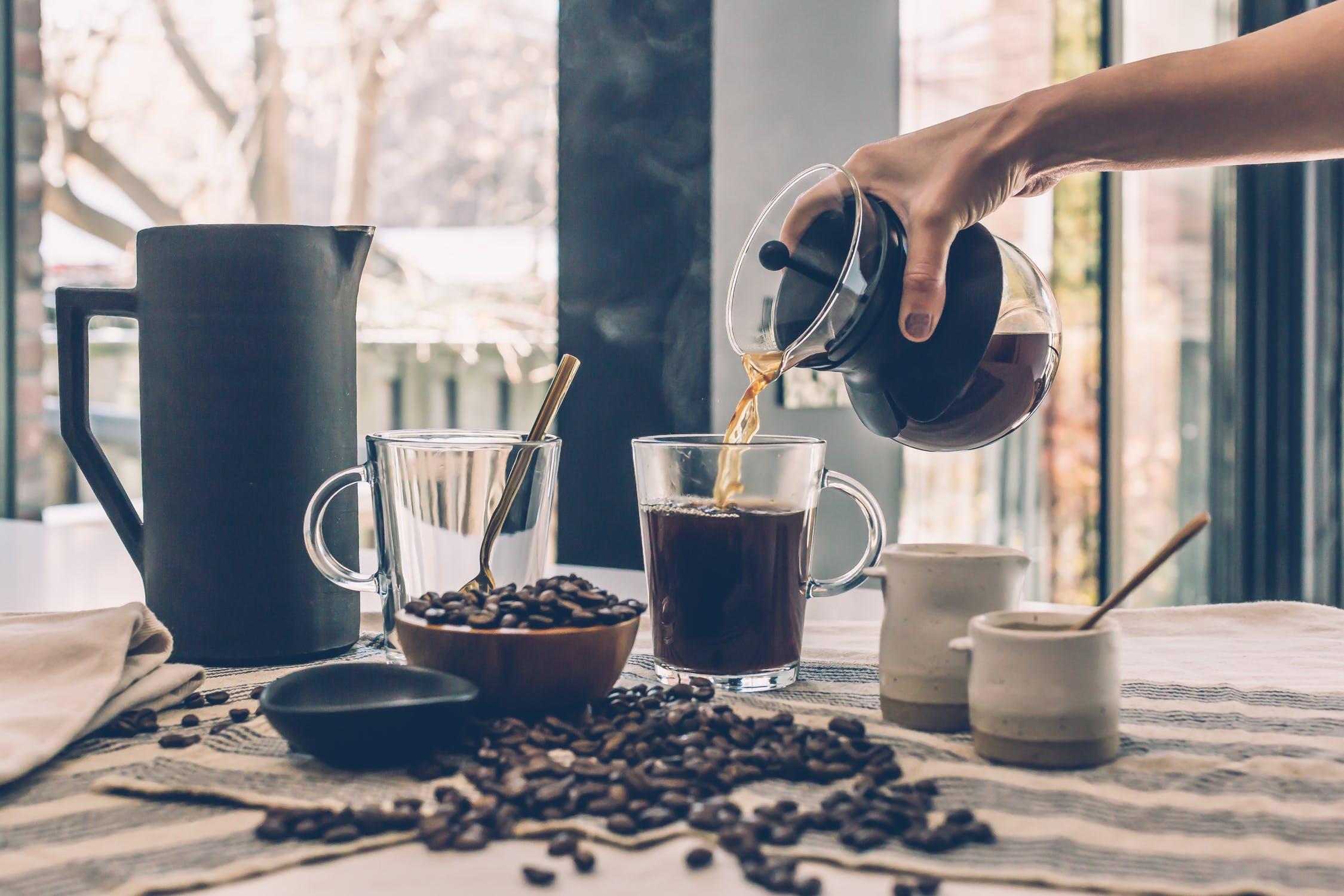 Kaffee kann müde machen