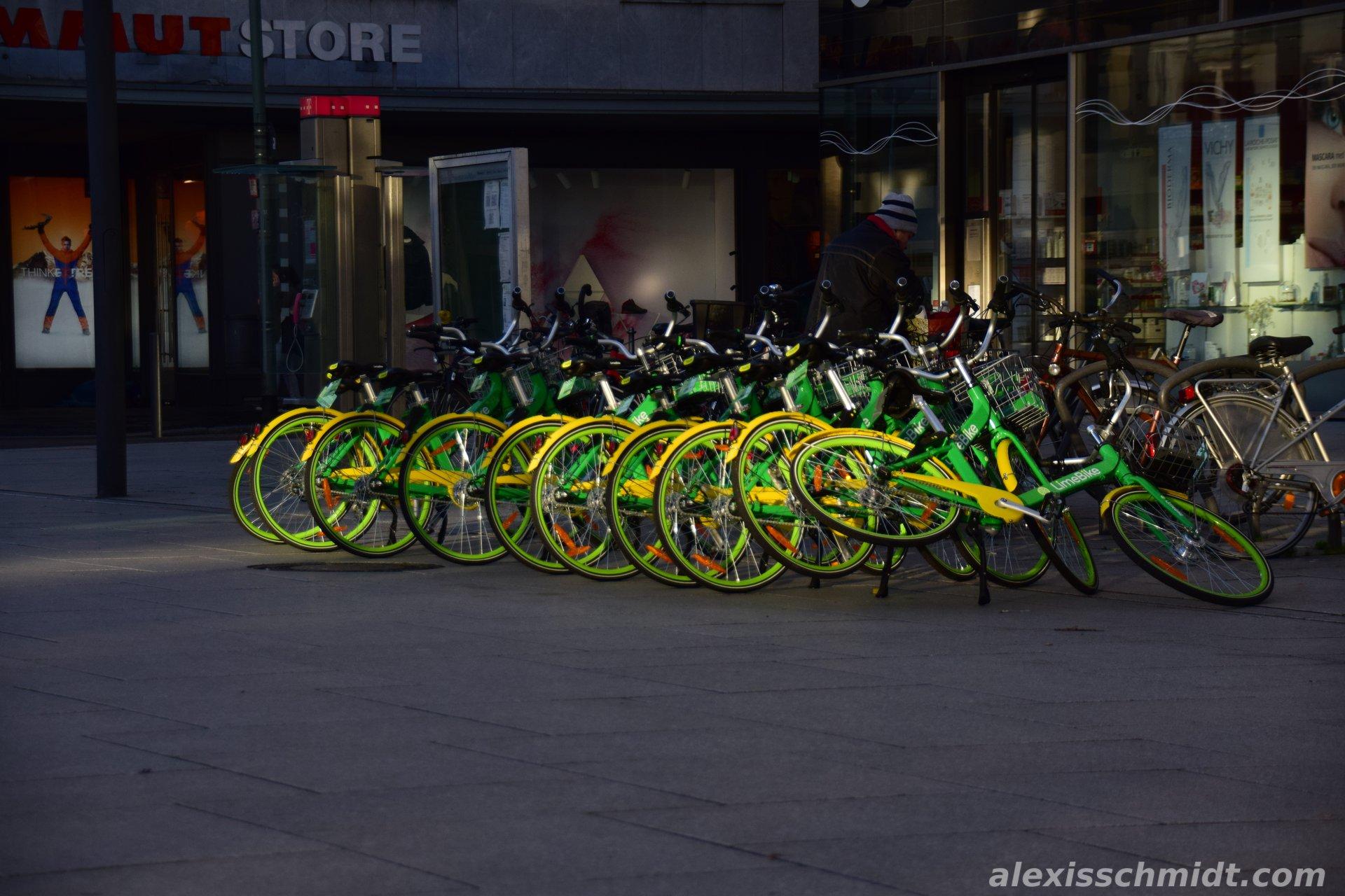 Lime Bikes in Frankfurt