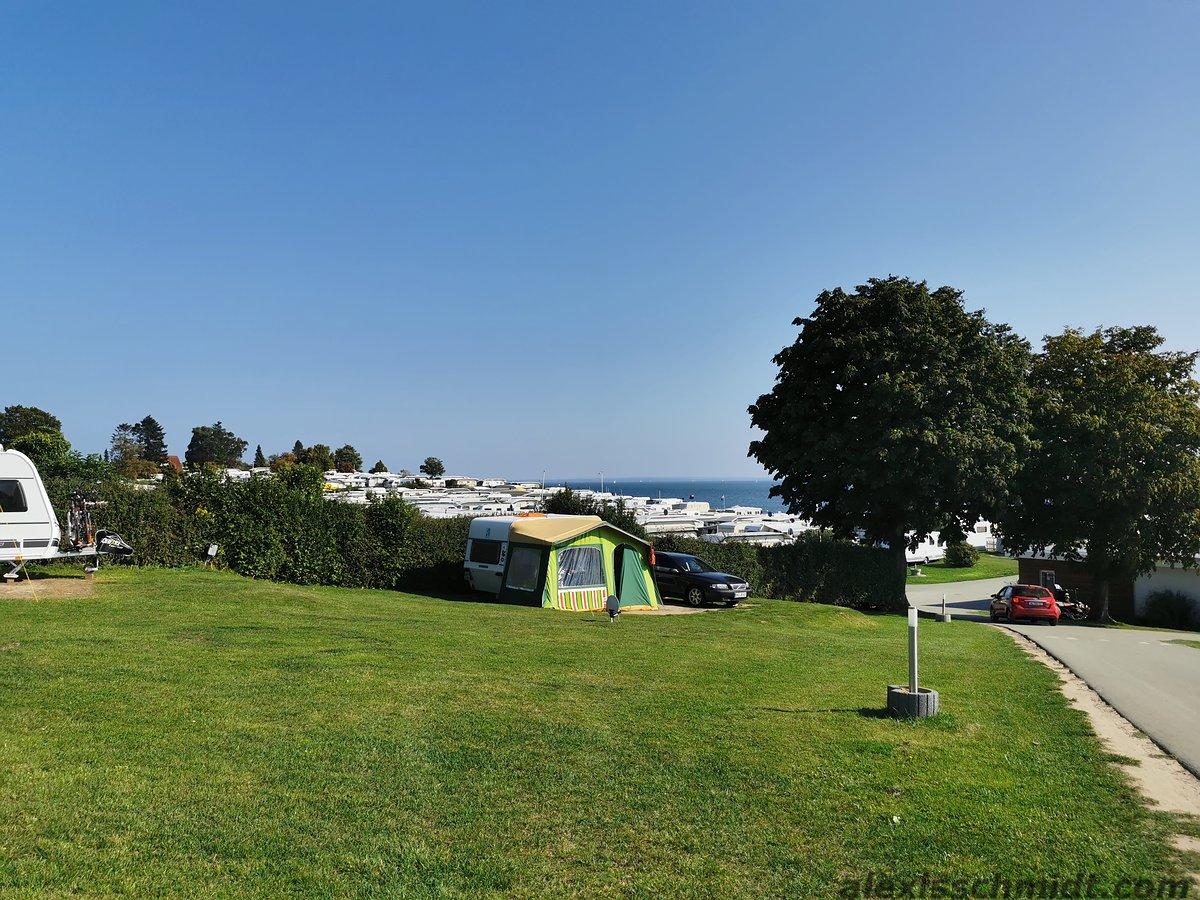 Campingplatz Südstrand Neustadt at the Baltic Sea